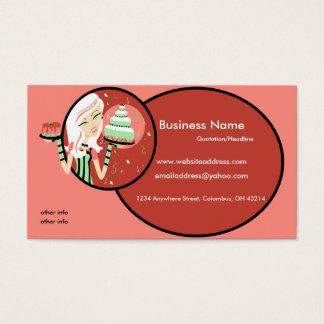 Cartões de visitas do padeiro/cozinheiro chefe 2