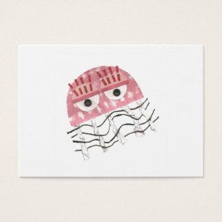 Cartões de visitas do pente das medusa