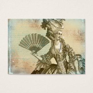 Cartões de visitas do pergaminho de Marie