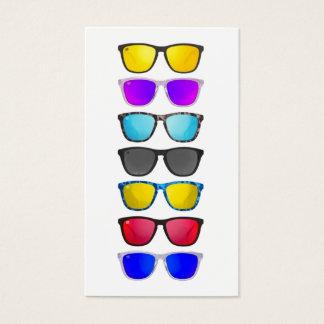 Cartões de visitas do representante do Eyewear dos