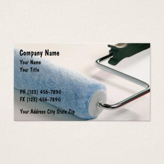Cartões de visitas dos pintores
