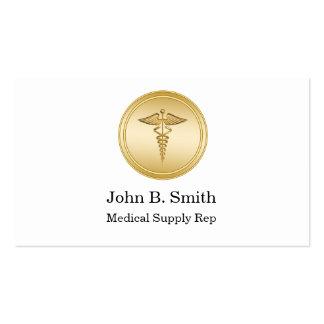 Cartões de visitas dos subministros médicos
