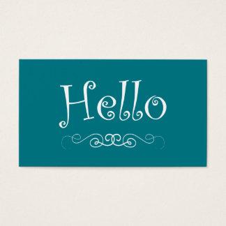 Cartões de visitas elegantes do manicuro