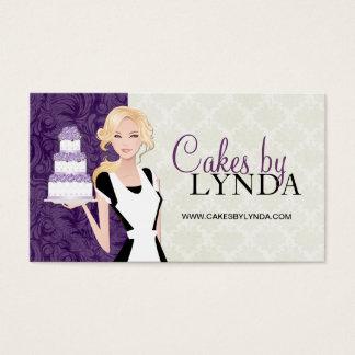 Cartões de visitas elegantes e elegantes da