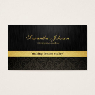 Cartões de visitas elegantes profissionais do
