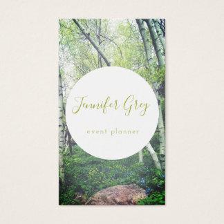 Cartões de visitas Enchanted das madeiras de
