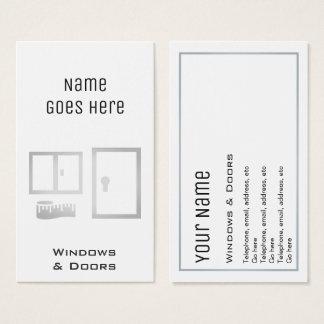 """Cartões de visitas """"essenciais"""" de Windows e das"""