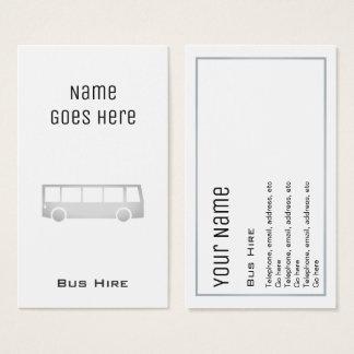 """Cartões de visitas """"essenciais"""" do aluguer do"""