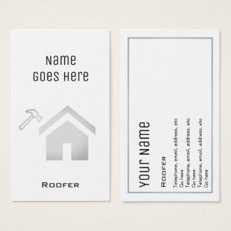 """Cartões de visitas """"essenciais"""" do Roofer"""