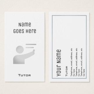 """Cartões de visitas """"essenciais"""" do tutor"""