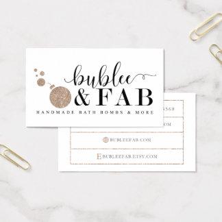 Cartões de visitas fabulosos de BubLee
