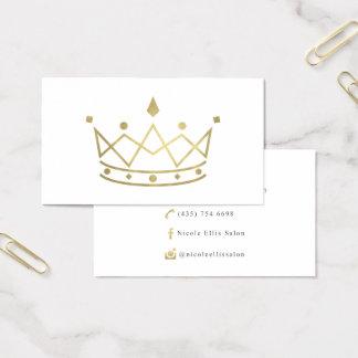 Cartões de visitas feitos sob encomenda Nicole