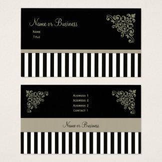 Cartões de visitas franceses do ~ do boutique