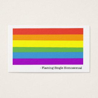 Cartões de visitas homossexuais