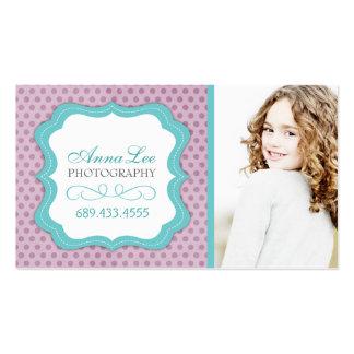 Cartões de visitas lunáticos customizáveis do fotó