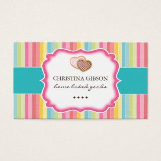 Cartões de visitas lunáticos dos biscoitos