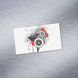 Cartões de visitas magnéticos abstratos de Eagle