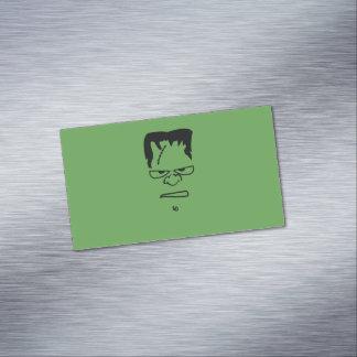 Cartões de visitas magnéticos de Frankenstein
