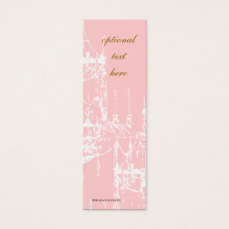 Cartões de visitas magros do candelabro elegante