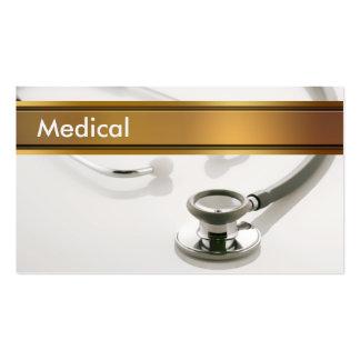 Cartões de visitas médicos