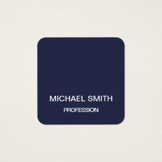 Cartões de visitas minimalistas profissionais