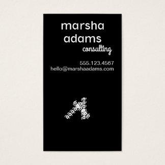 Cartões de visitas modernos