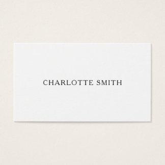 Cartões de visitas modernos profissionais