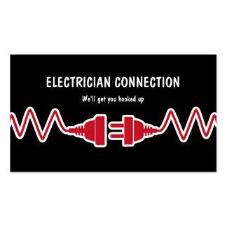 Cartões de visitas novos do eletricista