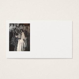 Cartões de visitas nupciais da pintura da dança