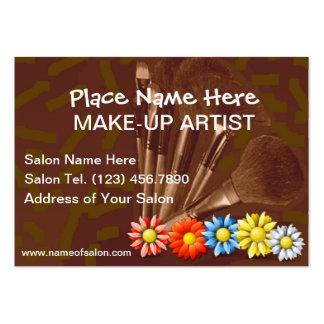 Cartões de visitas para artistas de composição