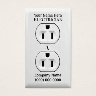 Cartões de visitas para eletricistas