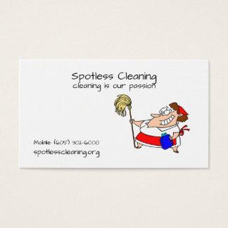 Cartões de visitas para empresas de limpeza