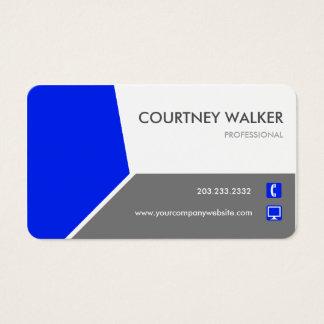 Cartões de visitas personalizar-capazes azuis