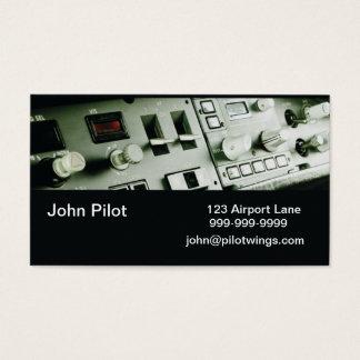 Cartões de visitas piloto dos instrumentos
