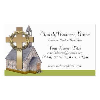 Cartões de visitas: Pouca igreja Cartão De Visita