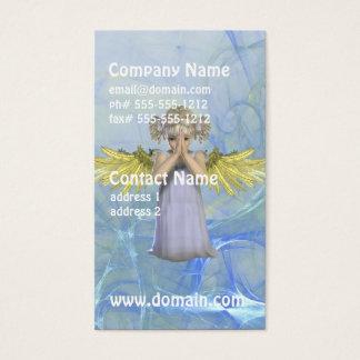 Cartões de visitas Praying do anjo