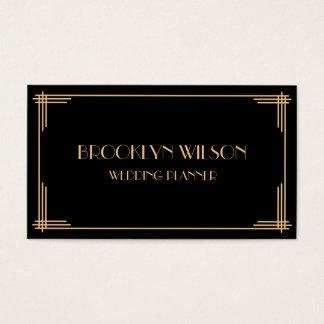Cartões de visitas pretos feitos sob encomenda do