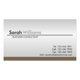 Cartões de visitas profissionais