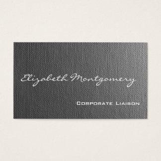 Cartões de visitas profissionais modernos