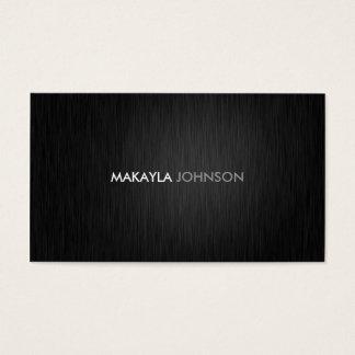Cartões de visitas profissionais modernos e