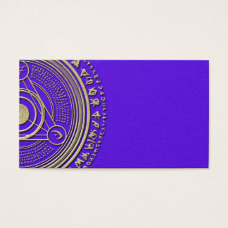 Cartões de visitas psíquicos do zodíaco da