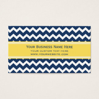 Cartões de visitas retros azuis amarelos de