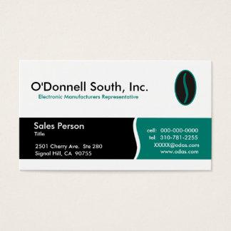 Cartões de visitas sul de O'Donnell