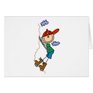 Cartões do alpinismo de StickFigure