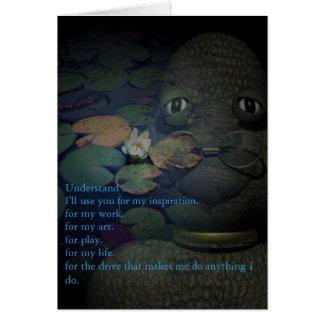 Cartões do amor de FrogDaddy