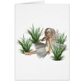 Cartões do anjo da floresta