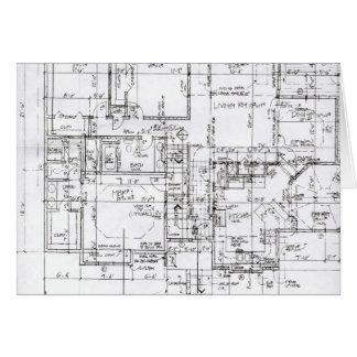 Cartões do arquiteto
