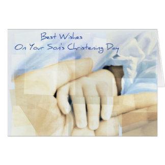 Cartões do batismo/baptismo