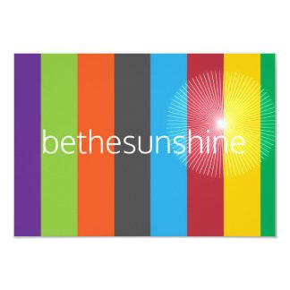 cartões do bethesunshine convite 8.89 x 12.7cm