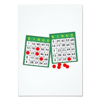 Cartões do Bingo Convite 8.89 X 12.7cm